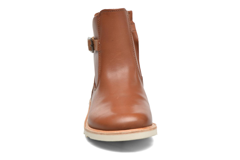 Bottines et boots Young Soles Vera Marron vue portées chaussures