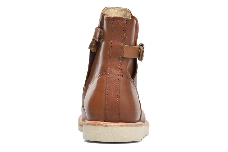 Bottines et boots Young Soles Vera Marron vue droite