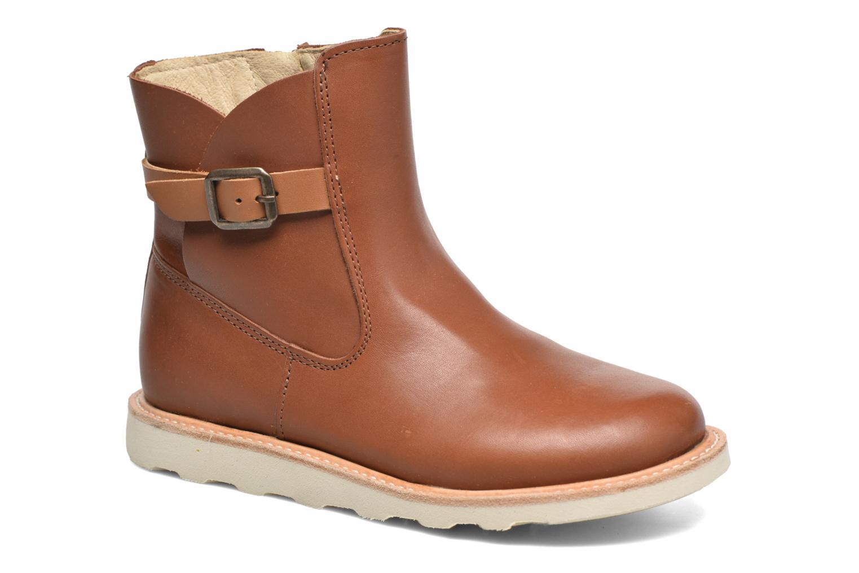 Bottines et boots Young Soles Vera Marron vue détail/paire