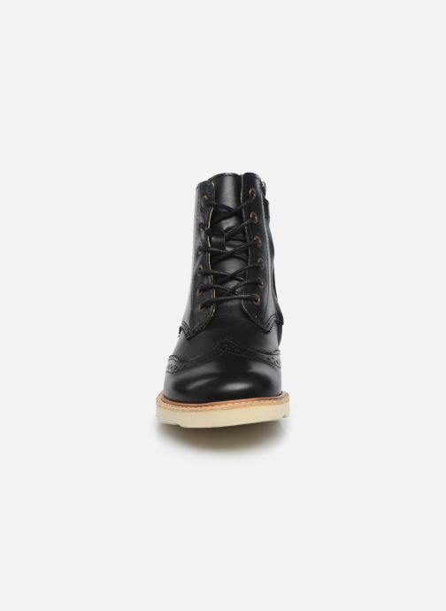 Boots en enkellaarsjes Young Soles Sidney Zwart model