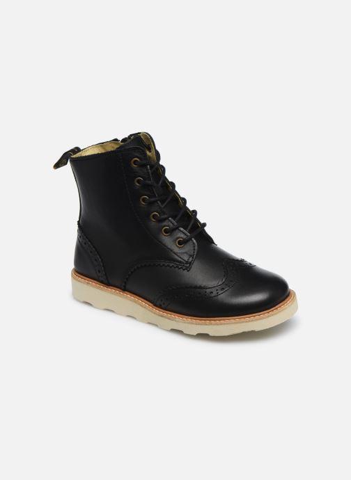 Boots en enkellaarsjes Young Soles Sidney Zwart detail