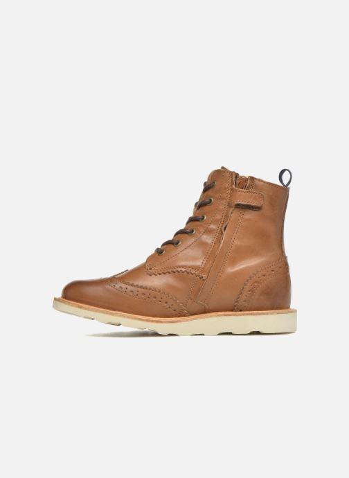 Bottines et boots Young Soles Sidney Marron vue face