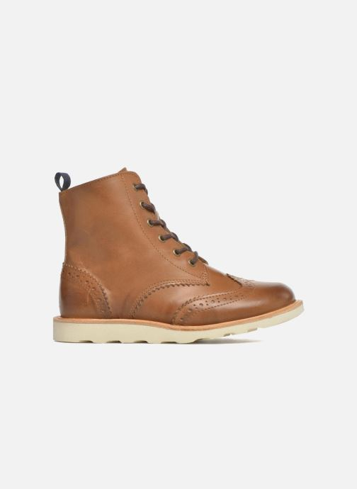 Bottines et boots Young Soles Sidney Marron vue derrière