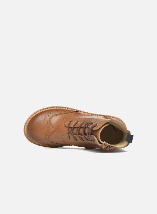 Bottines et boots Young Soles Sidney Marron vue gauche