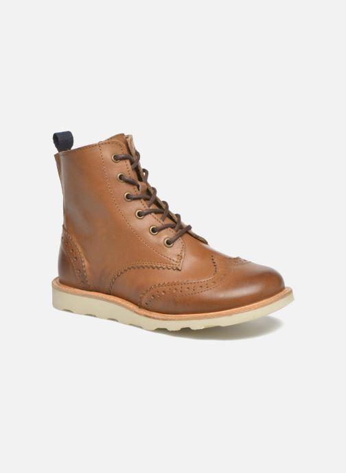 Bottines et boots Young Soles Sidney Marron vue détail/paire