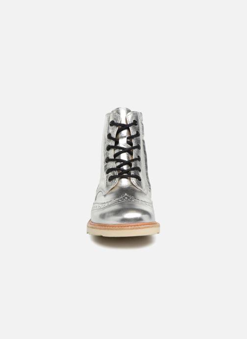 Bottines et boots Young Soles Sidney Argent vue portées chaussures
