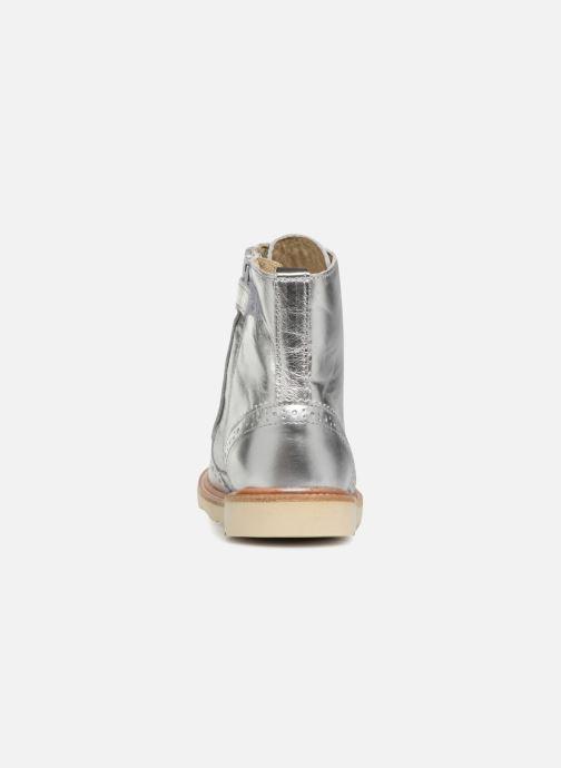Bottines et boots Young Soles Sidney Argent vue droite