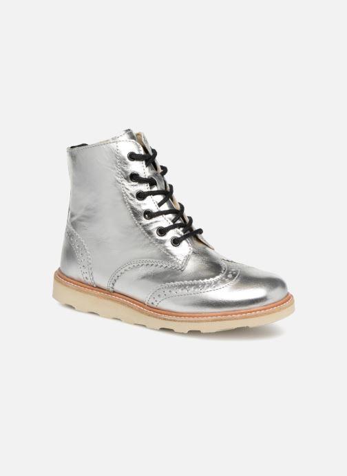Bottines et boots Young Soles Sidney Argent vue détail/paire
