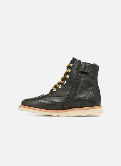 Stiefeletten & Boots Young Soles Sidney grün ansicht von vorne