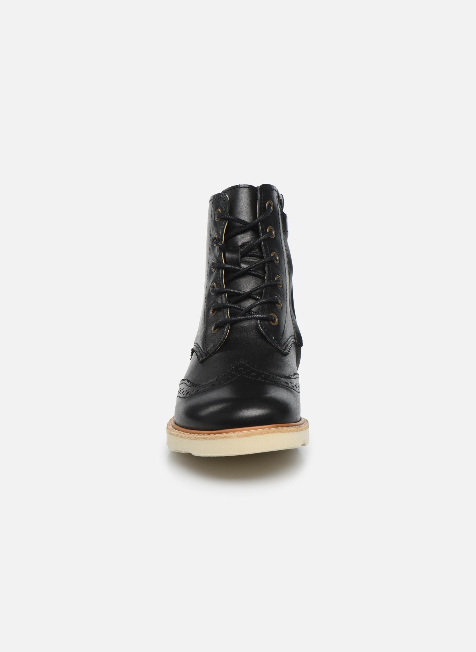 Stiefeletten & Boots Young Soles Sidney schwarz schuhe getragen