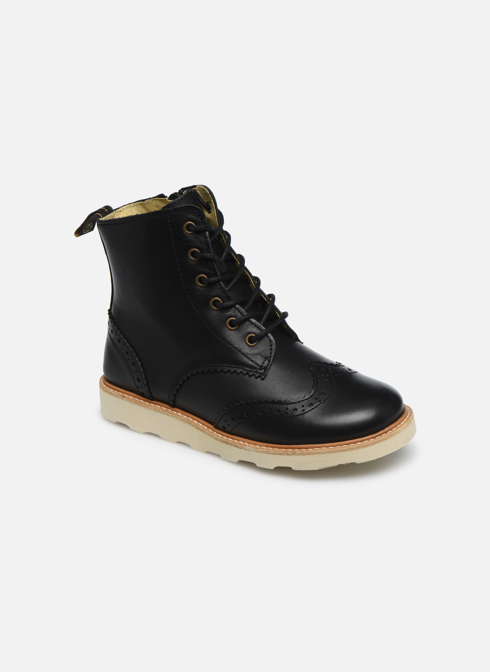 Ankle boots Young Soles Sidney Black detailed view/ Pair view