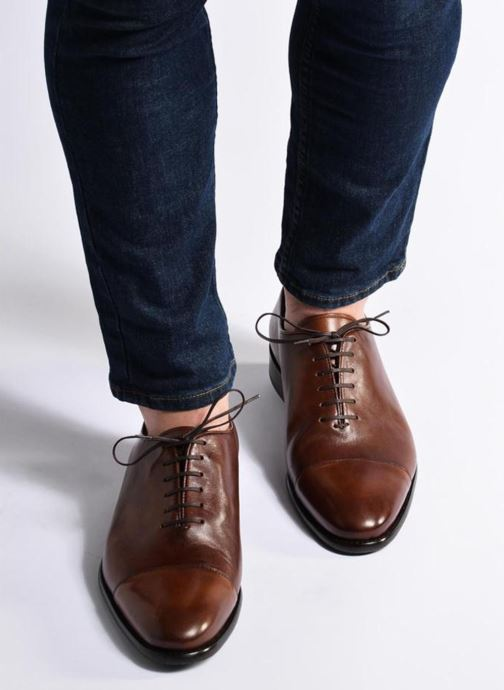 Chaussures à lacets Marvin&Co Luxe Perchok - Cousu Blake Marron vue bas / vue portée sac