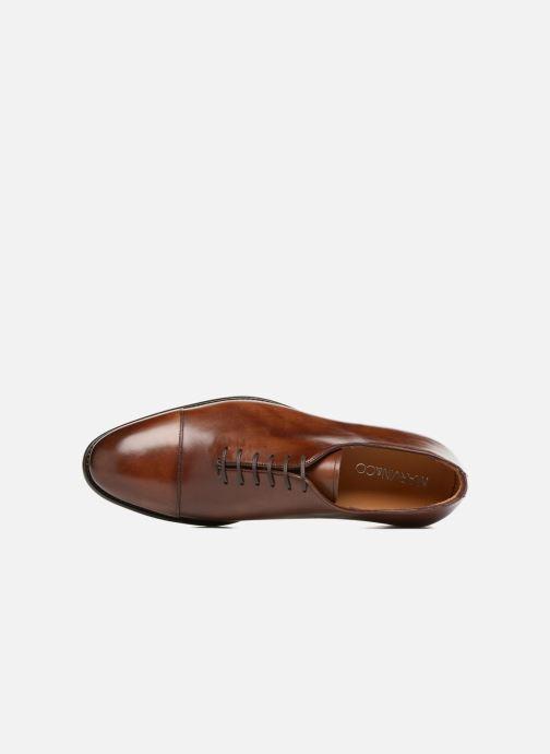 Zapatos con cordones Marvin&Co Luxe Perchok - Cousu Blake Marrón vista lateral izquierda