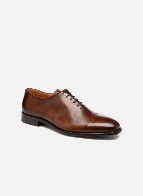 Zapatos con cordones Marvin&Co Luxe Perchok - Cousu Blake Marrón vista de detalle / par