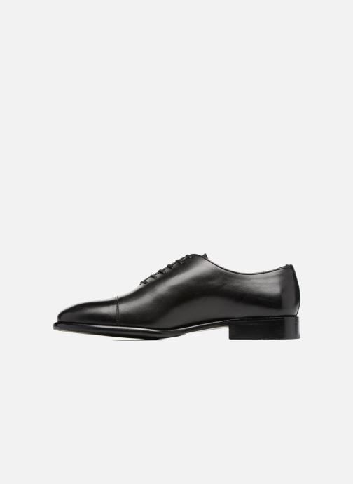 Zapatos con cordones Marvin&Co Luxe Perchok - Cousu Blake Negro vista de frente
