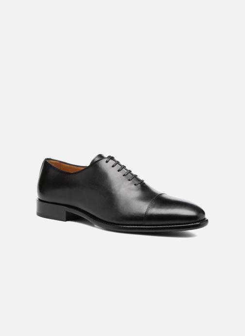 Zapatos con cordones Marvin&Co Luxe Perchok - Cousu Blake Negro vista de detalle / par