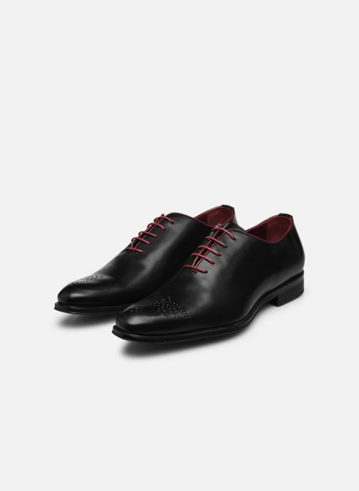 Chaussures à lacets Marvin&Co Luxe Perrowne - Cousu Blake Noir vue bas / vue portée sac