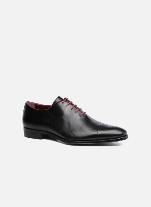Zapatos con cordones Marvin&Co Luxe Perrowne - Cousu Blake Negro vista de detalle / par