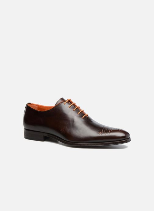 Lace-up shoes Marvin&Co Luxe Perrowne - Cousu Blake Brown detailed view/ Pair view