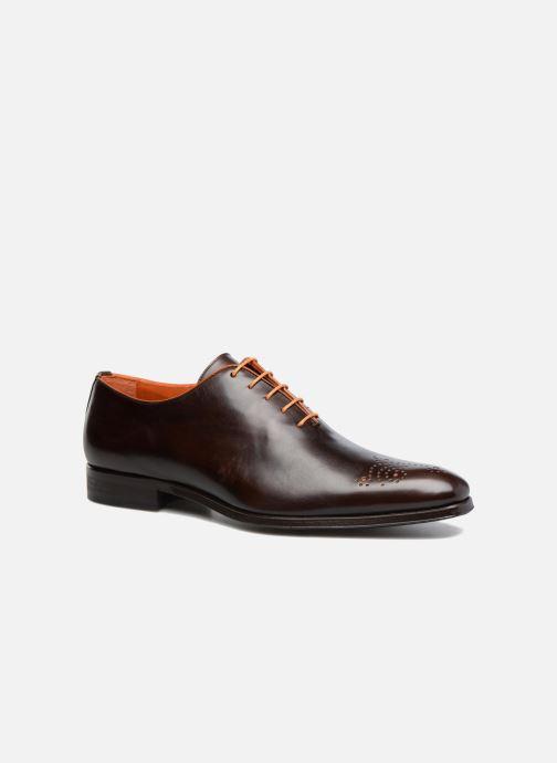 Zapatos con cordones Marvin&Co Luxe Perrowne - Cousu Blake Marrón vista de detalle / par