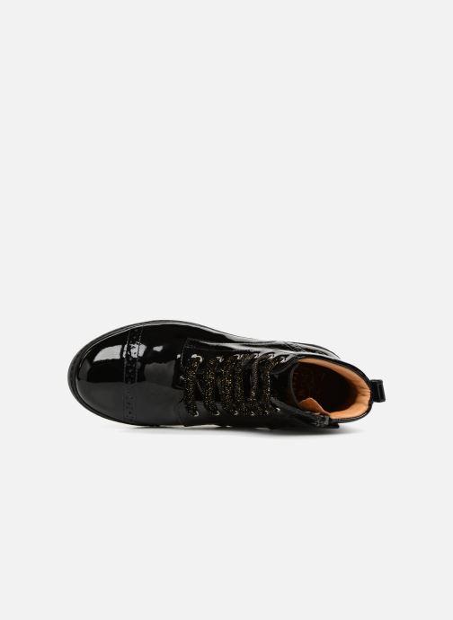 Boots en enkellaarsjes Pom d Api City Brogue Zwart links