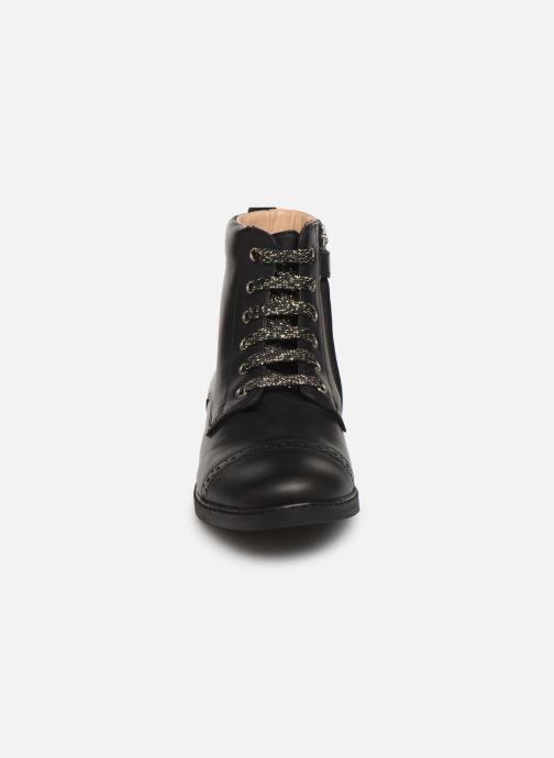 Bottines et boots Pom d Api City Brogue Noir vue portées chaussures