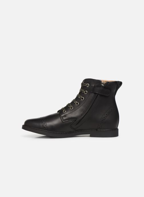 Bottines et boots Pom d Api City Brogue Noir vue face