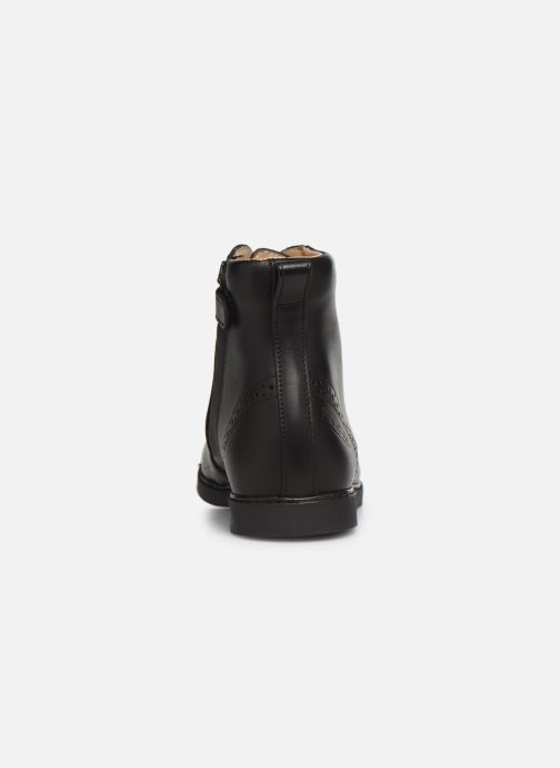 Bottines et boots Pom d Api City Brogue Noir vue droite