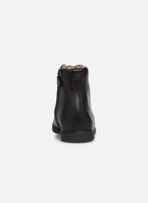 Boots en enkellaarsjes Pom d Api City Brogue Zwart rechts
