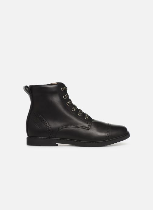Boots en enkellaarsjes Pom d Api City Brogue Zwart achterkant