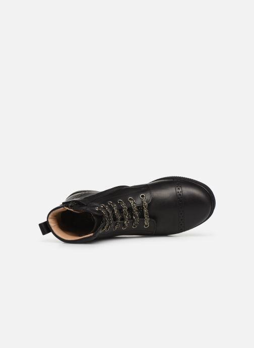 Bottines et boots Pom d Api City Brogue Noir vue gauche