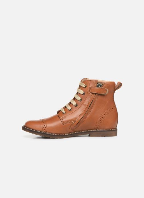 Boots en enkellaarsjes Pom d Api City Brogue Bruin voorkant