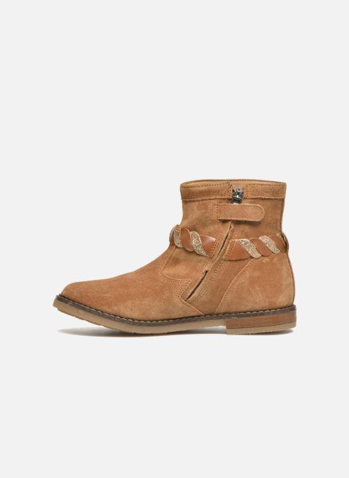Boots en enkellaarsjes Pom d Api Trip Twist Bruin voorkant