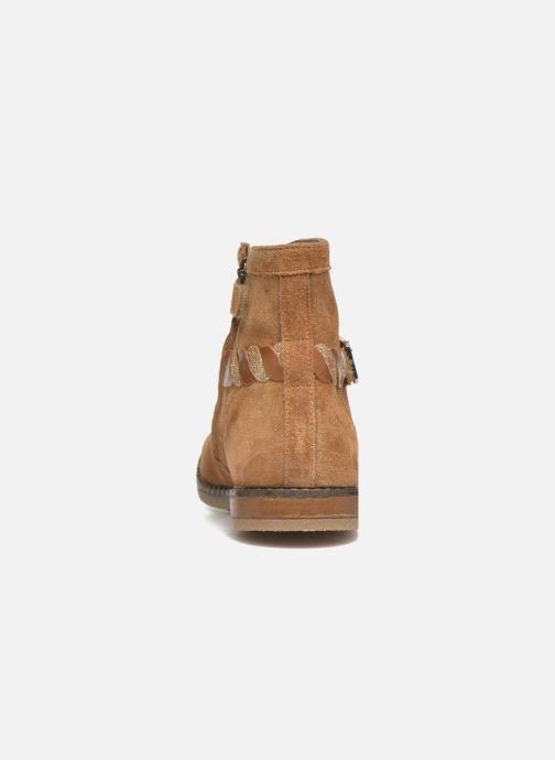 Bottines et boots Pom d Api Trip Twist Marron vue droite