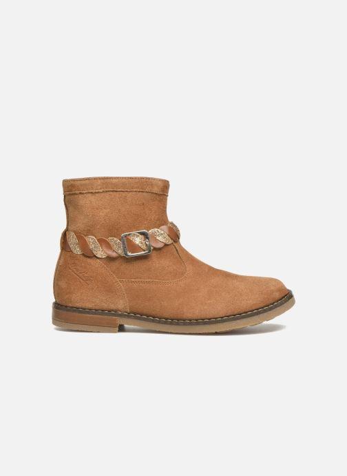 Boots en enkellaarsjes Pom d Api Trip Twist Bruin achterkant