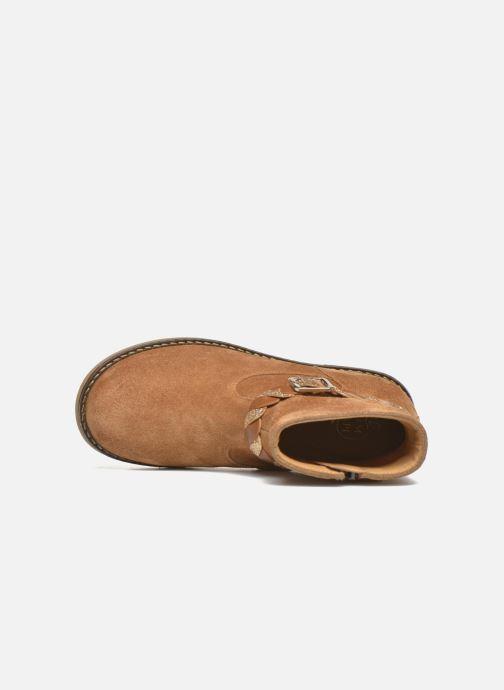 Boots en enkellaarsjes Pom d Api Trip Twist Bruin links