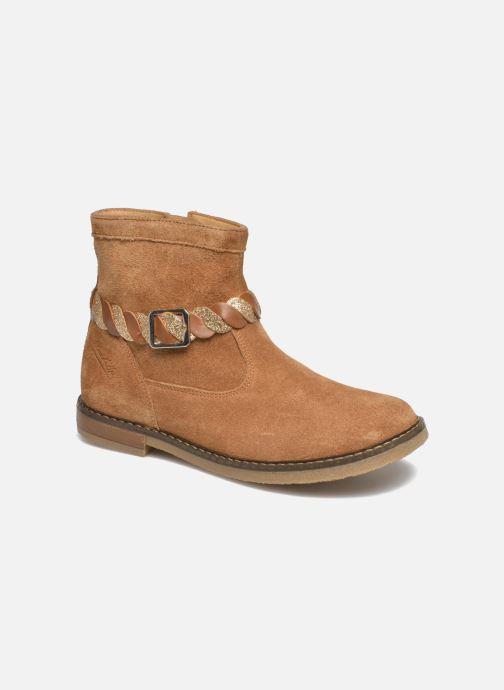 Boots en enkellaarsjes Pom d Api Trip Twist Bruin detail
