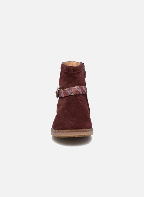 Bottines et boots Pom d Api Trip Twist Bordeaux vue portées chaussures