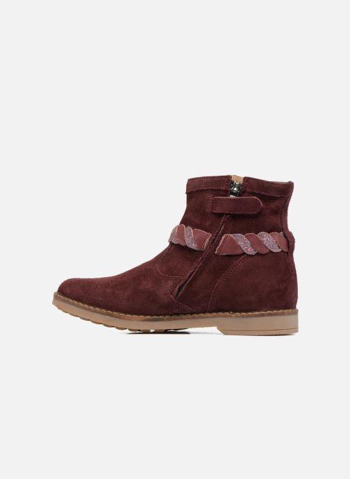 Bottines et boots Pom d Api Trip Twist Bordeaux vue face