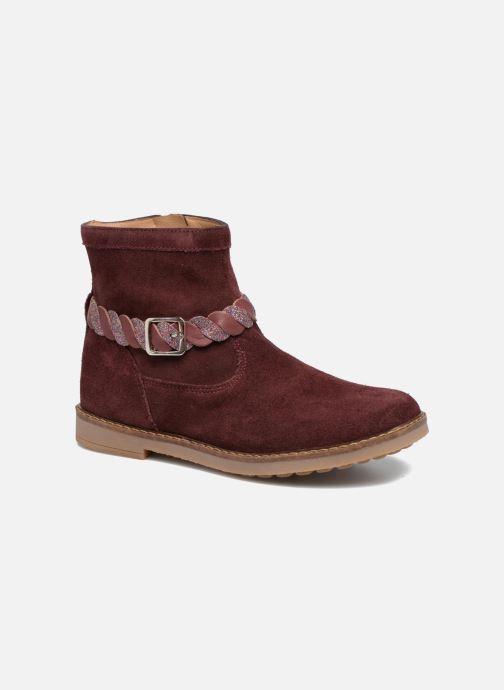 Bottines et boots Pom d Api Trip Twist Bordeaux vue détail/paire
