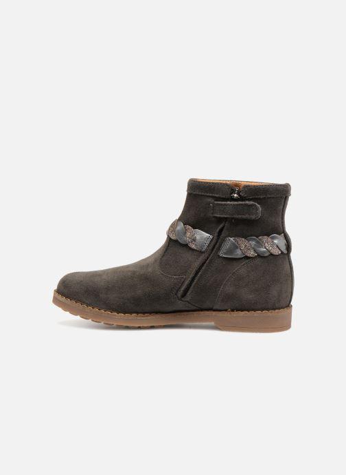Ankle boots Pom d Api Trip Twist Grey front view