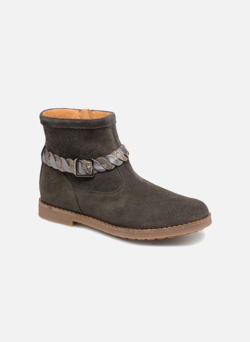 Bottines et boots Pom d Api Trip Twist Gris vue détail/paire