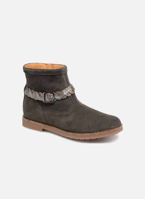 Ankle boots Pom d Api Trip Twist Grey detailed view/ Pair view