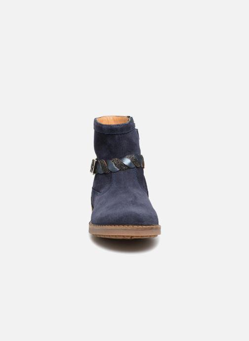 Bottines et boots Pom d Api Trip Twist Bleu vue portées chaussures