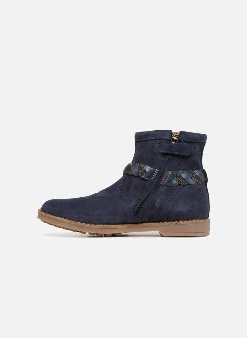 Bottines et boots Pom d Api Trip Twist Bleu vue face