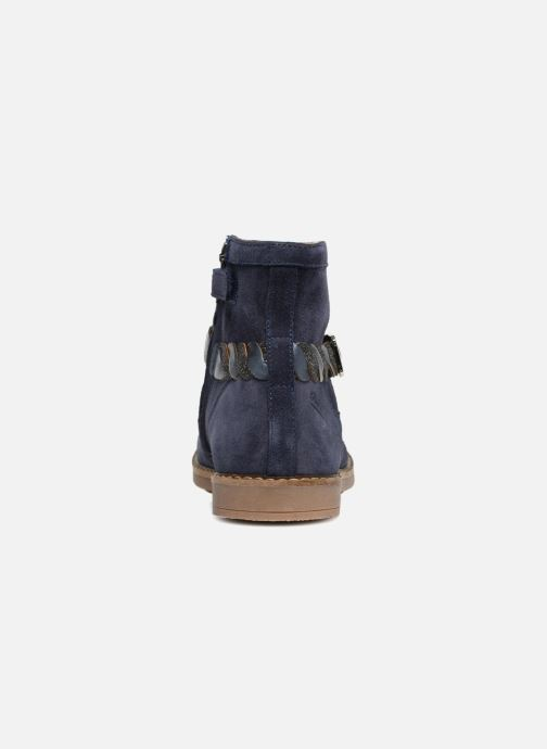 Bottines et boots Pom d Api Trip Twist Bleu vue droite