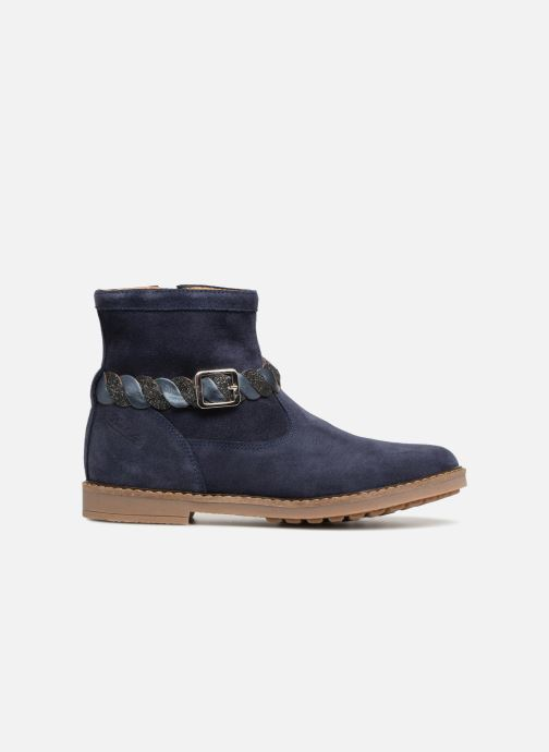 Bottines et boots Pom d Api Trip Twist Bleu vue derrière