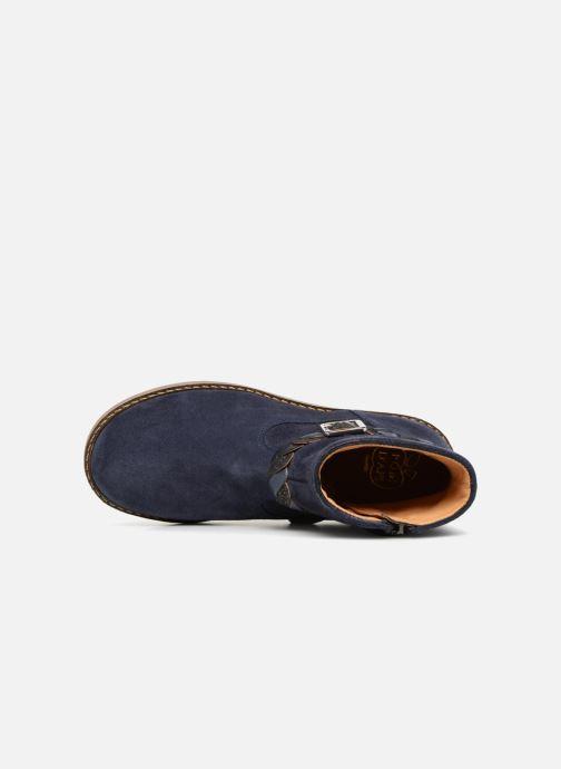 Bottines et boots Pom d Api Trip Twist Bleu vue gauche