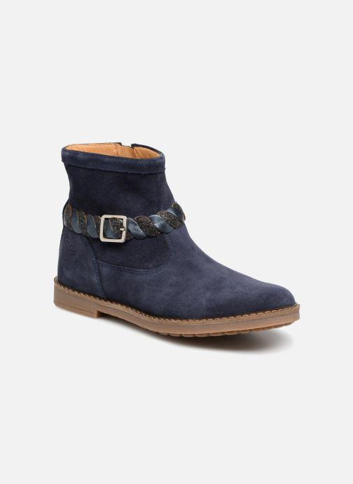 Bottines et boots Pom d Api Trip Twist Bleu vue détail/paire