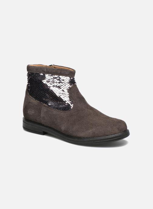 Ankelstøvler Pom d Api Hobo Cover Grå detaljeret billede af skoene